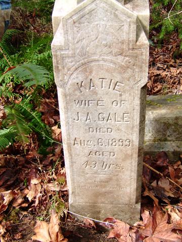Katie Gale's Tombstone